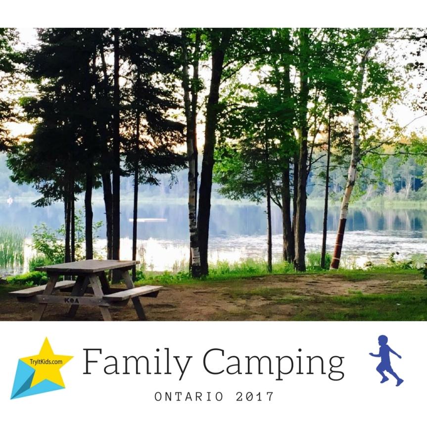Summer Camping (Glamping) In Ontario2017