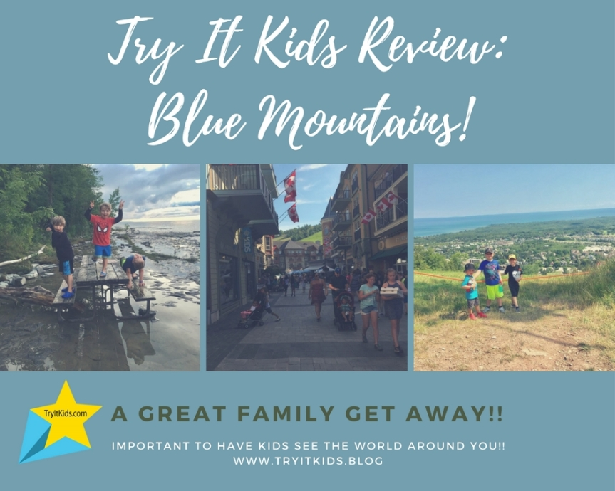 Travel With Try It Kids INC:                    Blue Mountains 2017 Summer Escape