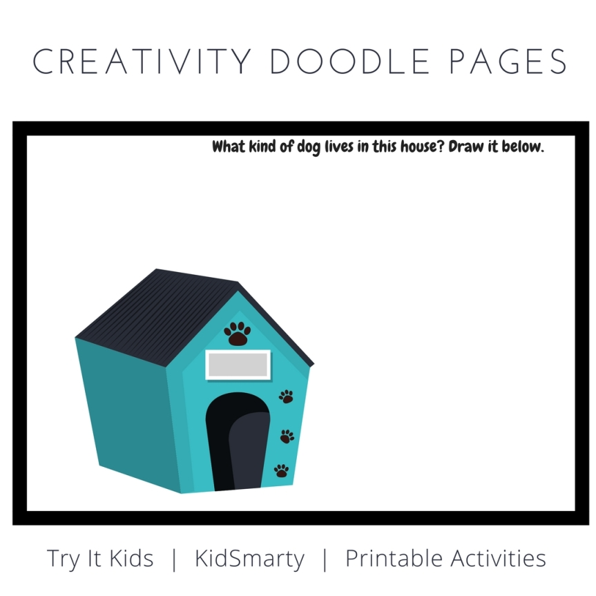 Creativity Doodle Pages – KidSmarty