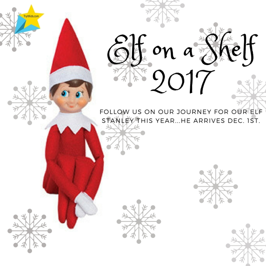 24 days of Elf on a Shelf with Try It Kids…
