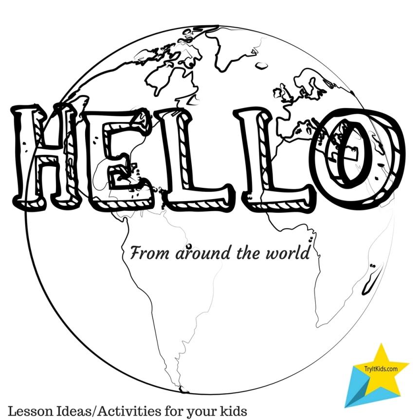 KidSmarty – Saying Hello Around theWorld!