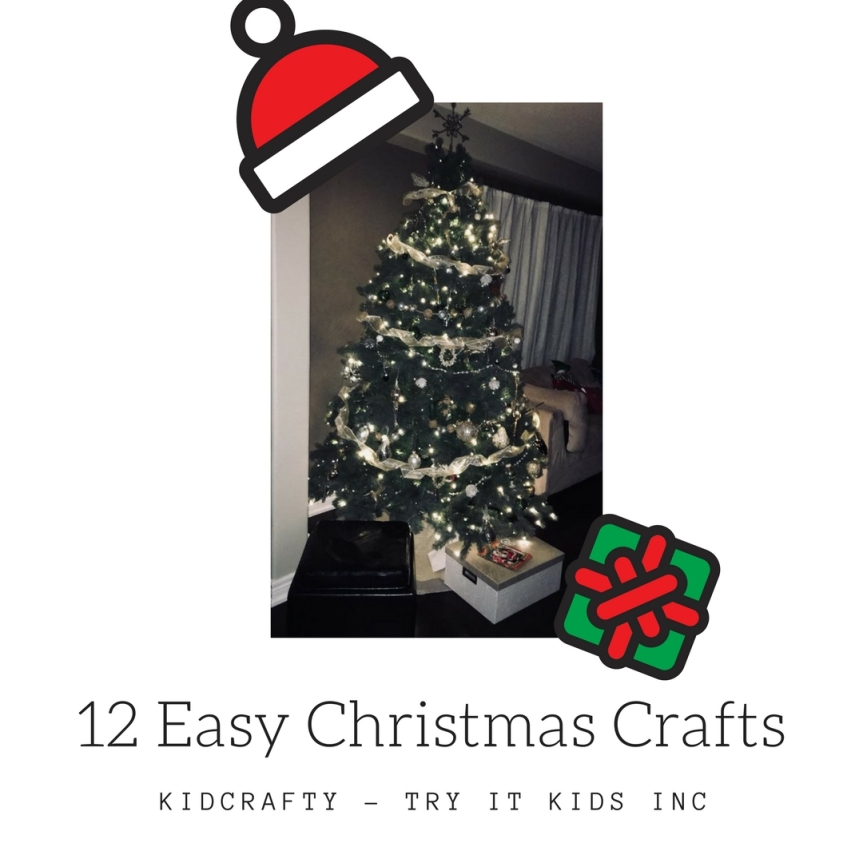 12 Easy ChristmasCrafts