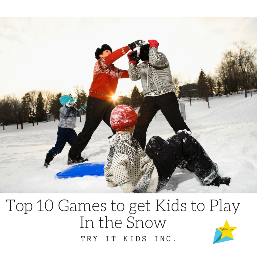 Top 10 Games to get Kids to Play In the Snow –KidSporty